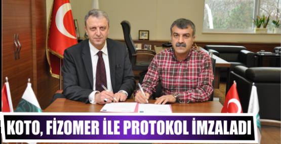 KOTO, Fizomer ile protokol imzaladı