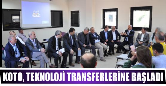 KOTO, TEKNOLOJİ TRANSFERLERİNE BAŞLADI
