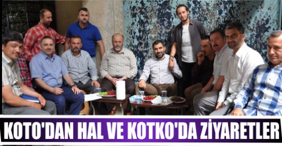 KOTO'DAN HAL VE KOTKO'DA ZİYARETLER