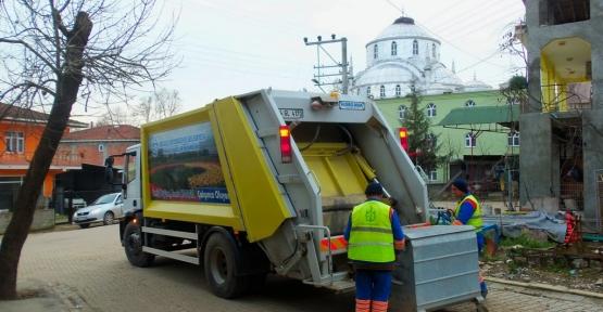 Köylerden ayda 2400 ton atık toplanıyor