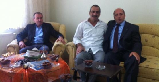 Koyun'dan Hacı Ali Karadeniz'e ziyaret