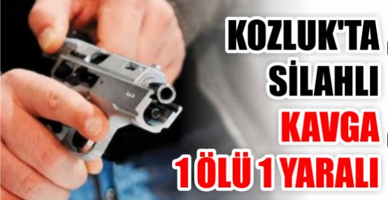 Kozluk'ta silahlı kavga: 1 ölü, 1 yaralı