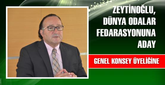 KSO Başkanı Zeytinoğlu,  Dünya Odalar Federasyonuna(WCF) aday