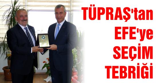 """KTO Yönetim Kurulu Başkanı Mustafa Efe, """"TÜPRAŞ İle Gurur Duyuyoruz"""""""