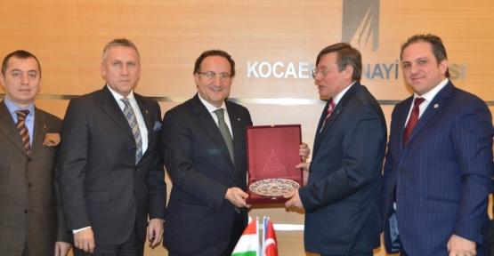 Macaristan dan Kocaeli'ne yatırım talebi