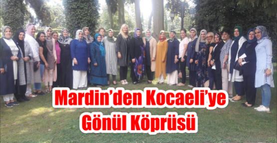 MARDİN'DEN KOCAELİ'YE GÖNÜL KÖPRÜSÜ