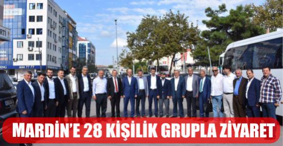 MARDİN'E 28 KİŞİLİK HEYETLE ZİYARET