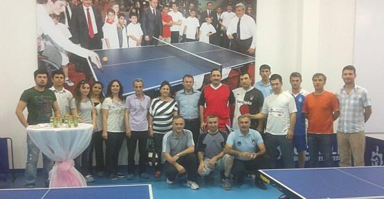 Masa Tenisinde Şampiyonlar Belirledi
