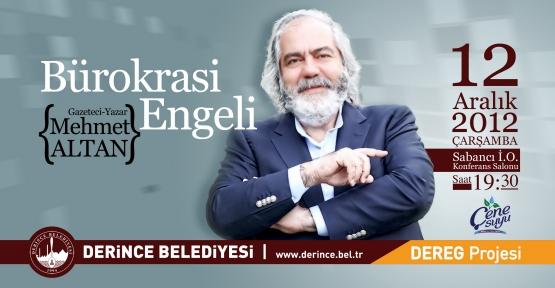 Mehmet Altan bürokrasiyi anlatacak