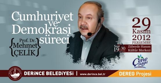 Mehmet Çelik 3'üncü kez Derince'de