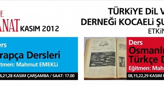 Meraklısına Osmanlıca-Eski Türkçe dersi