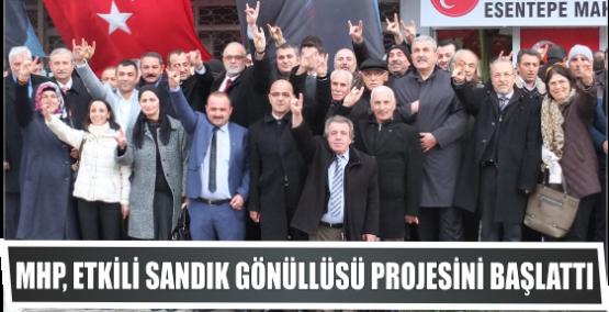 MHP, Etkili Sandık Gönüllüsü Projesini başlattı