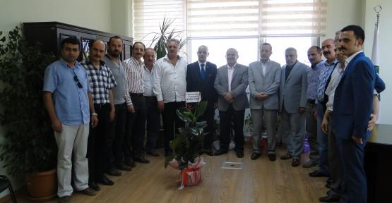 MHP İl Başkanı Aydın Ünlü'den KTO'na Ziyaret