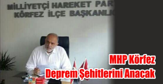 MHP Körfez Deprem Şehitlerini Anacak