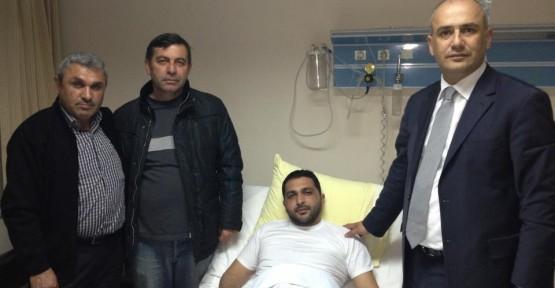MHP Körfez'den Ekinci'ye Ziyaret