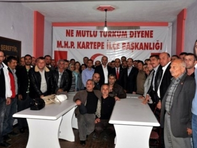 MHP'ye Suadiye'de 80 yeni üye