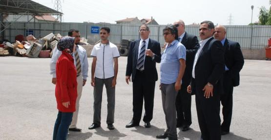 Mısırlı yetkililerden Atık Getirme Merkezi'ne övgü
