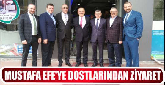 MUSTAFA EFE'YE DOSTLARINDAN ZİYARET