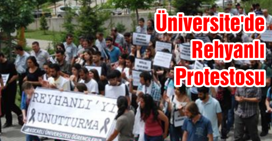 Öğrenciler Reyhanlı'yı Protesto ettiler