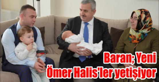 Ömer Halis bebeklere 'Hoş Geldin' dedi