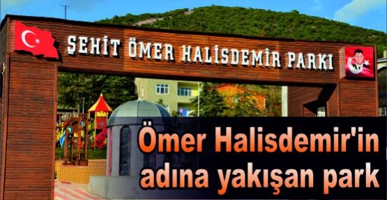 Ömer Halisdemir'in adına yakışan park