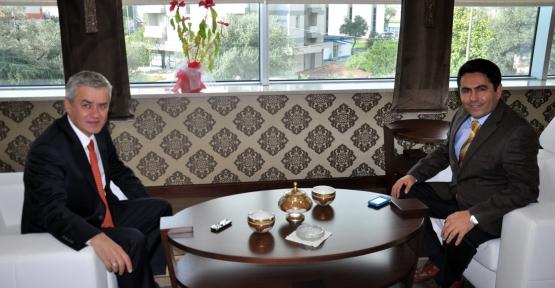 Opak ve Polat, Pehlivan'ı Ziyaret Etti