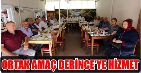 ORTAK AMAÇ DERİNCE'YE HİZMET