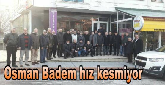 Osman Badem hız kesmiyor