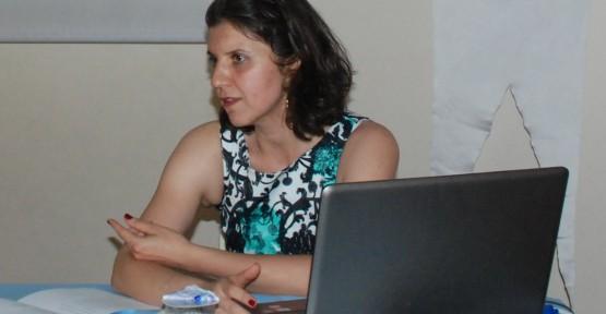 Özlem Kemik Gül'den  hanımlara sağlık semineri