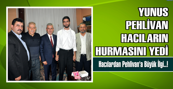 Pehlivan, Çamlıtepe'de Moral Depoladı