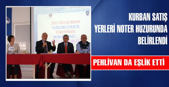 PEHLİVAN'DA EŞLİK ETTİ