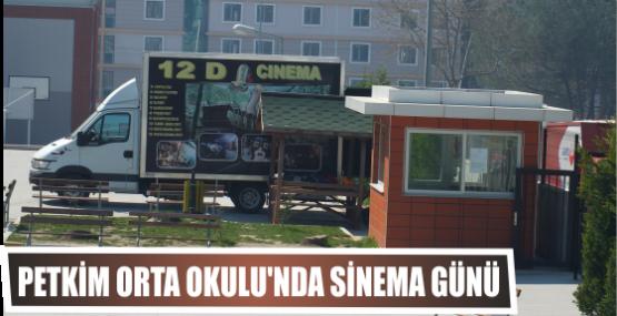 Petkim Orta Okulu'nda sinema  Günü