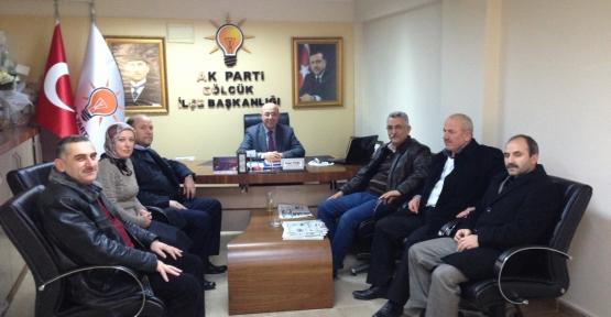 Petrol İş Sendikasından Ak Partiye Ziyaret