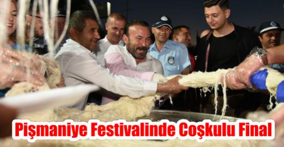 PİŞMANİYE FESTİVALİNDE COŞKULU FİNAL
