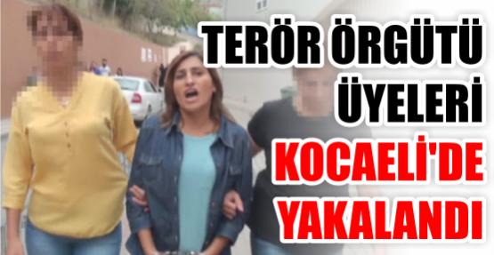 Polis katili terör örgütü üyesi Kocaeli'de yakalandı