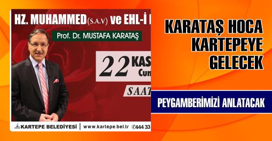 Prof. Dr. Karataş Kartepe'de