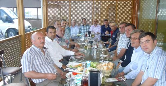 Saadet  Körfez Köy temsilcileri ile buluştu