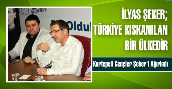 Şeker : Türkiye Kıskanılan Bir Ülkedir