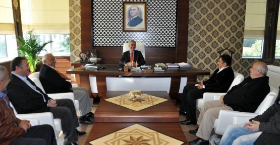 Sivas'lılardan Başkan Pehlivan'a Hayırlı Olsun Ziyareti