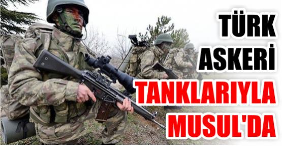 Son dakika haberi: Türk askeri Musul'da