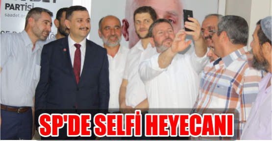 SP'DE SELFİ HEYECANI