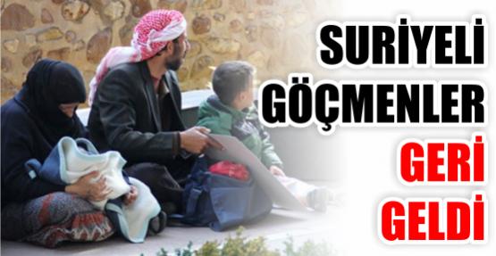 Suriyeli göçmenler yeniden ortaya çıktı