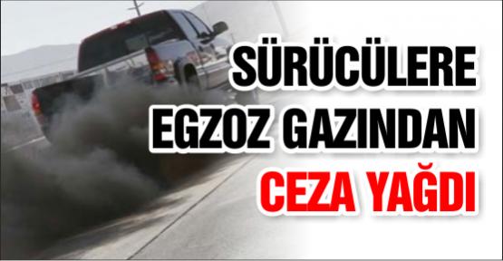"""Sürücülere """"Egzoz Gazından"""" Ceza Yağdı"""