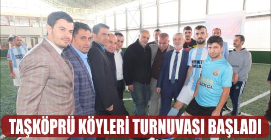 Taşköprü Köyleri Turnuvası Başladı
