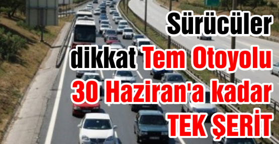 TEM TEK ŞERİT