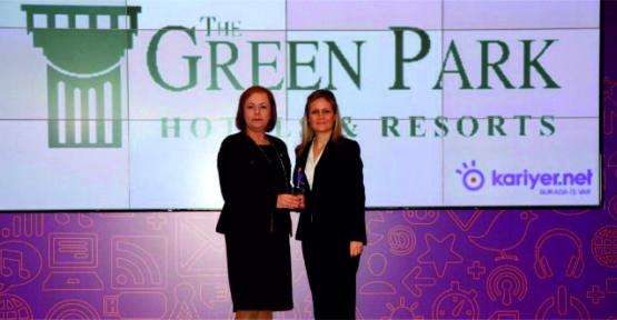 THE GREEN PARK HOTELS & RESORTS KARİYER.NET TARAFINDAN İNSANA SAYGI ÖDÜLÜ'NE LAYIK GÖRÜLDÜ