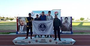 MAVİ BEYAZLI ATLETLER, MERSİN#039;DEN...
