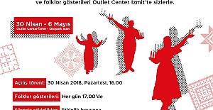 ANADOLU İLLERİ YÖRESEL KÜLTÜRLER FESTİVALİ OUTLET CENTER İZMİT'TE