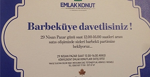 EMLAK KONUT BARBEKÜYE DAVET ETTİ