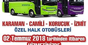 Kocaeli - Sakarya Otobüs Seferleri...